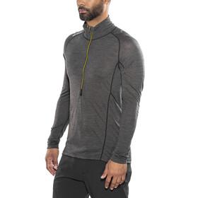 Devold M's Running Zip Neck LS Shirt Anthracite